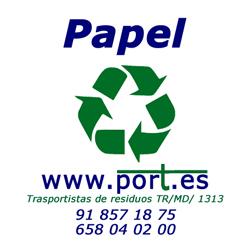 Recogida de papel empresas